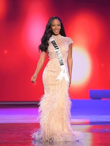 Miss Universe Great Britain Jeanette Akua.