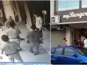 Gerai Burger Ini Hampir Didenda Rp 86 Juta karena Pegawainya Makan di Dalam Resto