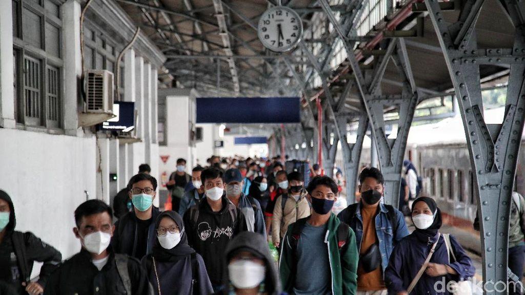 Larangan Mudik Usai, 8.639 Penumpang ke Luar Kota Via Stasiun Pasar Senen