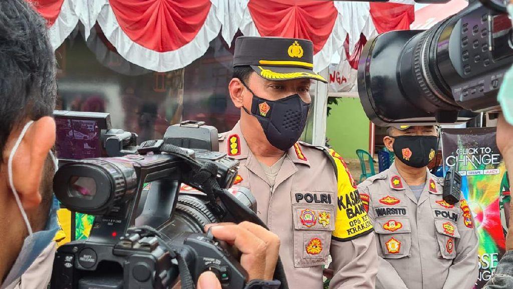 Warga di Lampung Bakar Kapal dan Paksa Polisi Serahkan Nakhoda