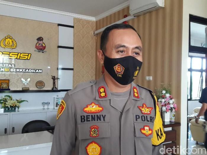 Kapolres Temanggung AKBP Benny Setyowadi, Senin (17/5/2021).