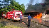 Ini Dugaan Penyebab Kebakaran Gudang Lilin di Kelenteng Sam Poo Kong