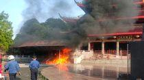 Kebakaran di Klenteng Sam Poo Kong Semarang