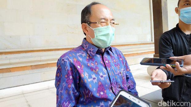 Kepala Dinas Kesehatan Provinsi Bali Ketut Suarjaya (Sui Suadnyana/detikcom).