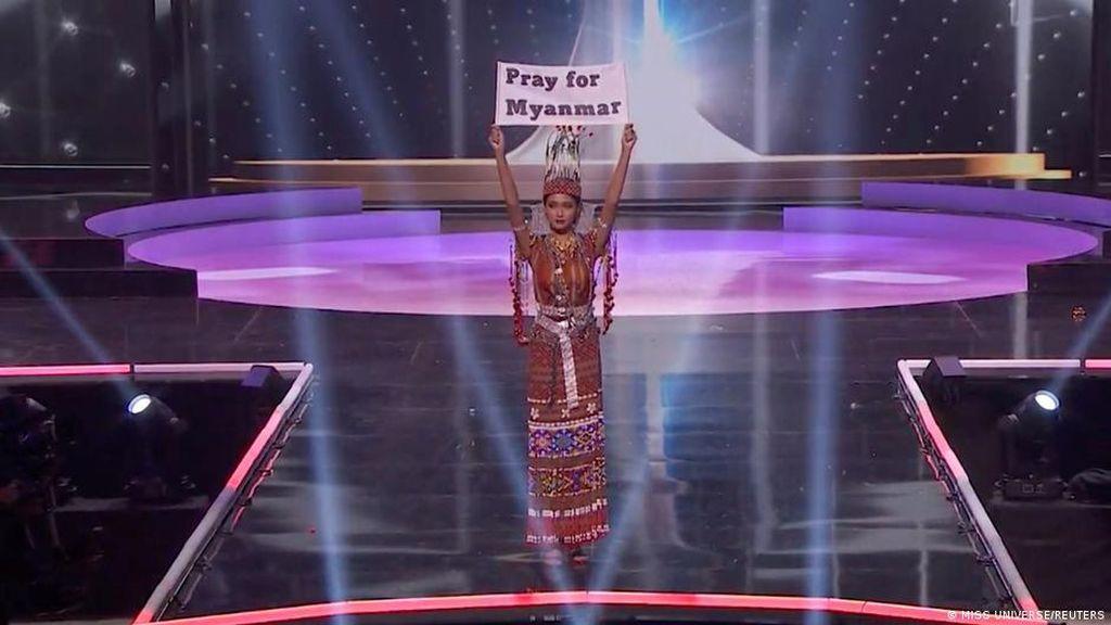 Kontestan Miss Universe dari Myanmar Desak Dunia Menentang Junta Militer