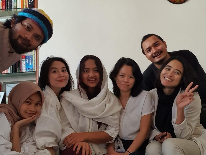 Lebaran mahasiswa Indonesia di Italia (dok. Pri)