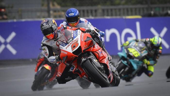 Johann Zarco di MotoGP Prancis 2021.
