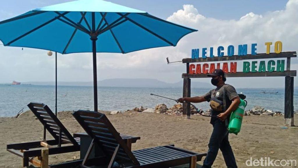 Usai Libur Lebaran, Seluruh Wisata di Banyuwangi Disemprot Disinfektan