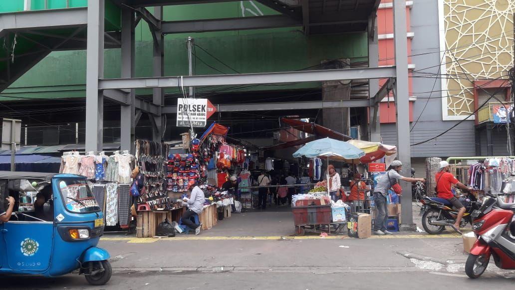 Pasar Tanah Abang masih ditutup usai Lebaran (Rakha-detikcom)