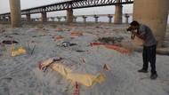 Kala Ratusan Mayat Bermunculan Lagi di Sungai Gangga India