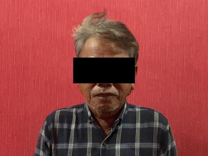 Pria hina Jokow ditangkap di Kepri (dok. Polda Kepri)