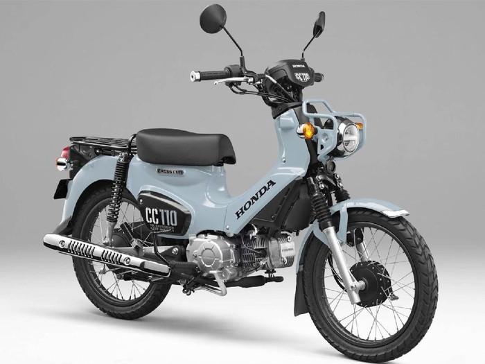 Honda CC 110 Puko Blue