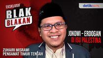 Blak-blakan Zuhairi Misrawi, Beda Jokowi-Erdogan Soal Palestina