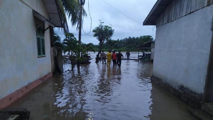 Banjir terjadi di Aceh Selatan (dok. BPBA)