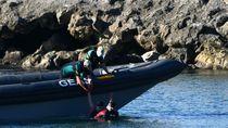 Berenang-Jalan Kaki Memanfaatkan Air Laut Surut, 5.000 Migran Maroko Tiba di Spanyol