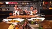 Bikin Laper! Keseruan Dimas Beck dan Ncess Nabati Makan Pizza 1 Meter