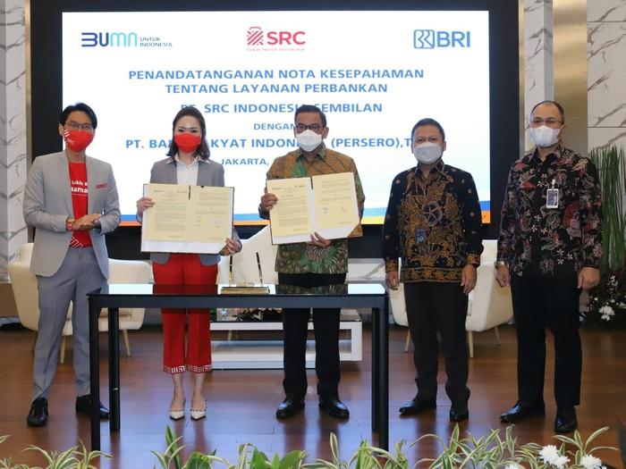BRI dan SRC Kerja Sama Hadirkan Layanan Perbankan di Toko Kelontong