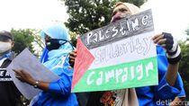Buruh di Jabar Gelar Aksi Kecam Serangan Israel