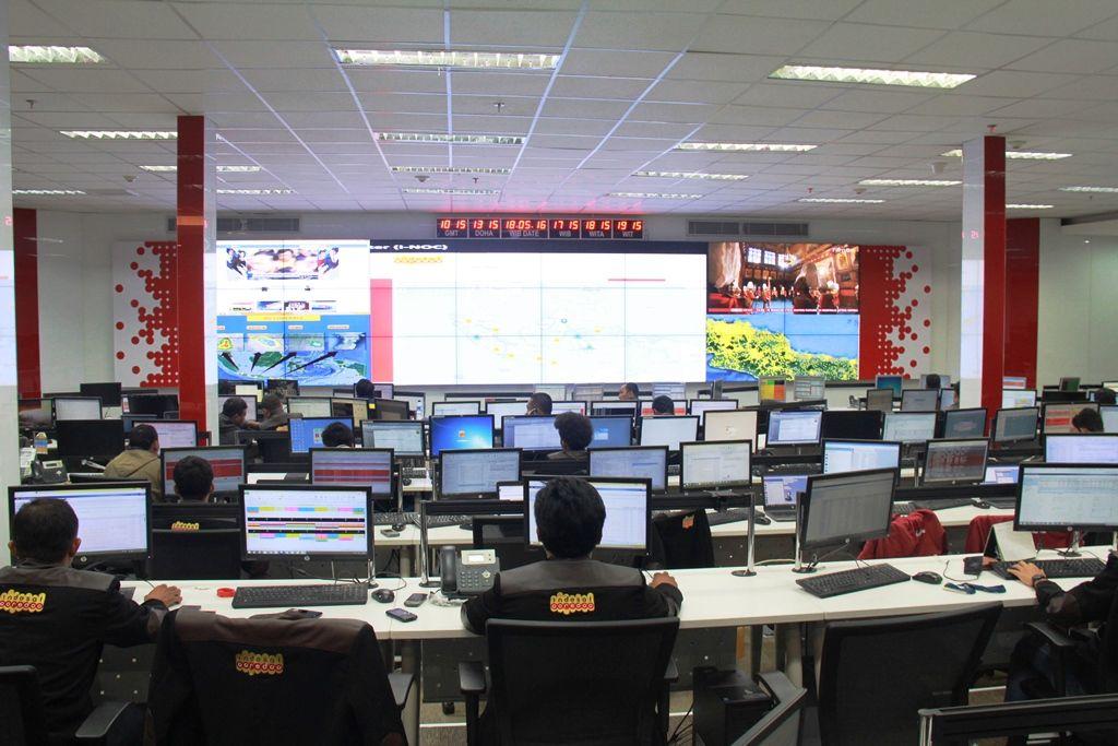 Command Center Indosat Ooredoo