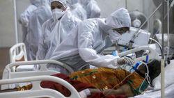 Ngeri, 6 Ribu Pasien Corona di India Meninggal dalam Sehari