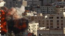 Serangan Israel Hancurkan Satu-satunya Lab COVID-19 di Gaza
