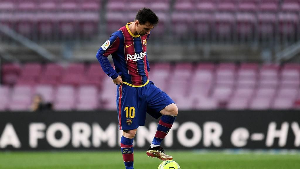 Gol Lionel Messi Lawan Tim-tim Besar Spanyol: Cuma 1