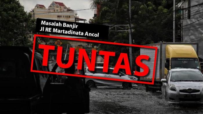Masalah banjir Jl RE Martadinata Tuntas.