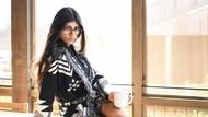 8 Potret Mia Khalifa, Ex Bintang Porno Kritik Gal Gadot Soal Israel-Palestina