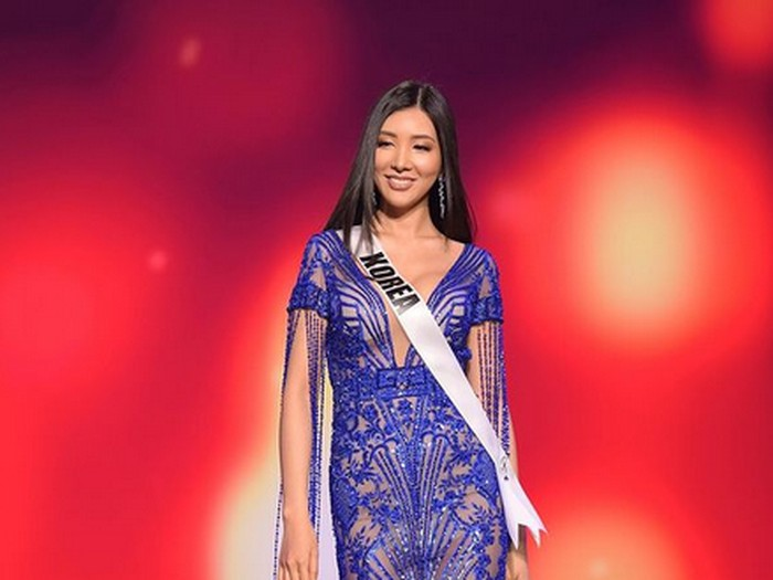 Miss Universe Korea 2020 Anaz