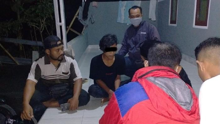 Pemuda di Lombok diamankan polisi karena menghujat Palestina dengan kata kotor (Foto: dok. Istimewa)