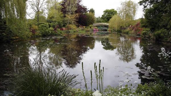 Karya-karya Monet banyak yang terinspirasi dari pohon dan bunga-bunga di halaman rumahnya. Sejak menetap di Giverny, Monet makin populer dengan lukisan kolam dan water lily yang terdapat di kebunnya.