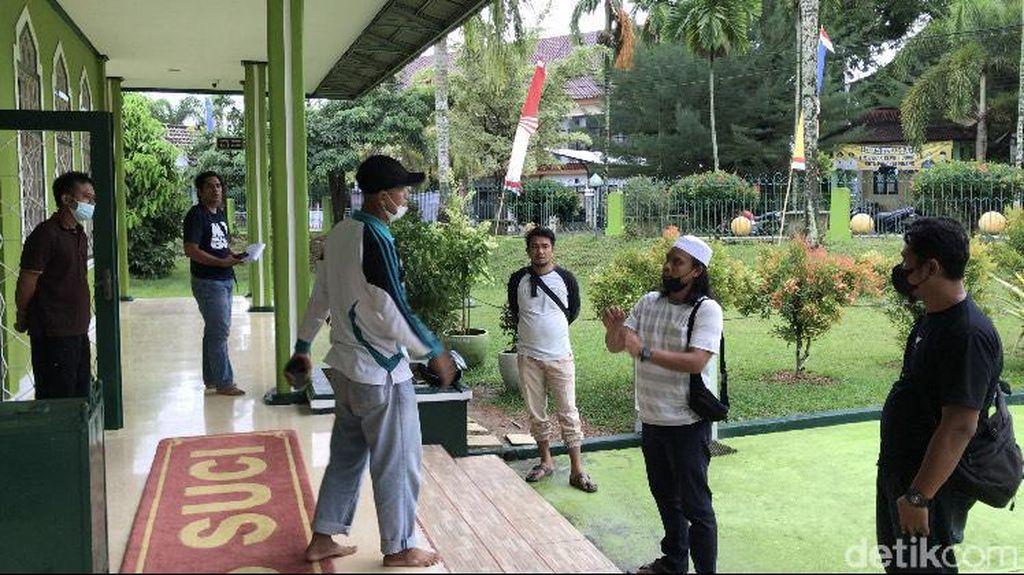 Akhir Pelarian Pria Bejat yang Cabuli Bocah di Masjid Pangkalpinang