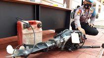 Polisi Perlihatkan Barbuk Perahu Terbalik di Boyolali