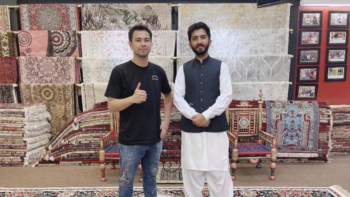 Raffi Ahmad beli karpet