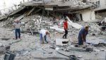 Ratusan Warga Palestina Tewas Akibat Serangan Israel