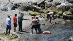 Momen Ribuan Migran Maroko Berenang ke Spanyol