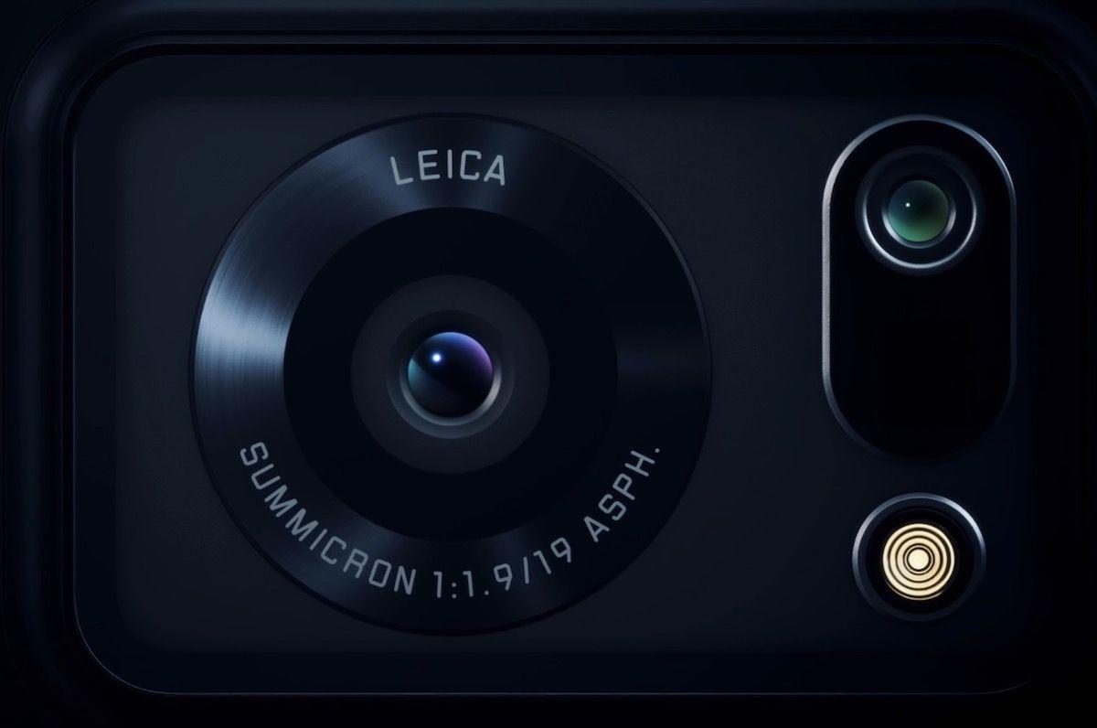 Sharp Aquos R6 ponsel dengan kamera Leica