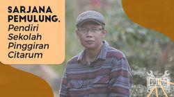 Indra Darmawan, Lulusan Unpad yang Jadi Pemulung Budiman