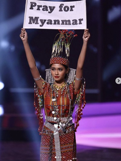 Thuzar Wint Lwin Miss Universe Myanmar