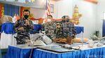 Potret Puing-puing KRI Nanggala yang Berhasil Diangkat