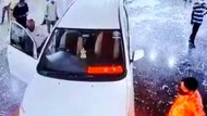 Pria India Ngamuk Tabrak RS Pakai Innova Usai Ayahnya Meninggal Positif Covid-19