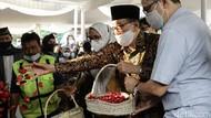 Akbar Tanjung-Tjahjo Kumolo Hadir di Pemakaman Wimar Witoelar