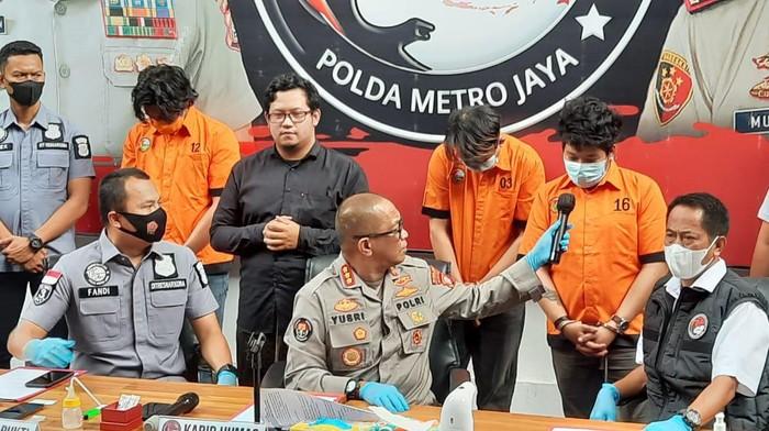 Anak Rita Sugiarto ditangkap terkait kasus narkoba