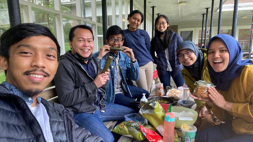Kisah Mahasiswa RI Lebaran di Belgia: Makan Opor & Sholat Id di Lapangan