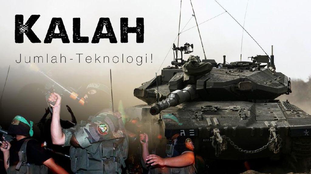 Bak Gajah Vs Semut, Perbandingan Kekuatan Militer Israel dan Hamas
