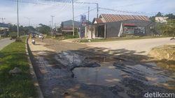 Tolong! Jalang Poros di Kota Kendari Rusak Parah-Bahayakan Pengendara