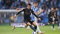 10 Pemain Man City Ungguli Brighton 1-0 di Babak Pertama