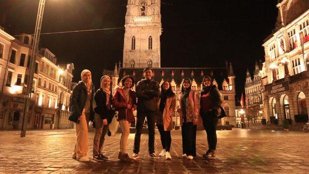Mahasiswa Belgia