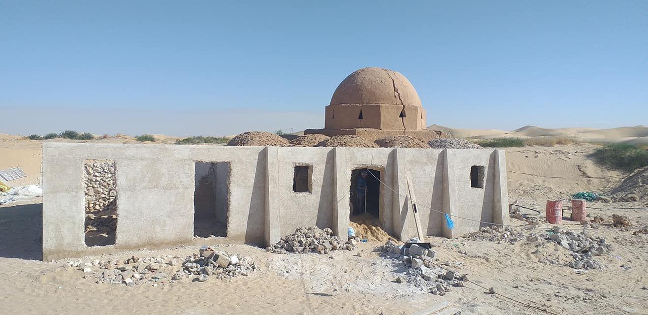 Masjid desa Lakhbi di Aljazair