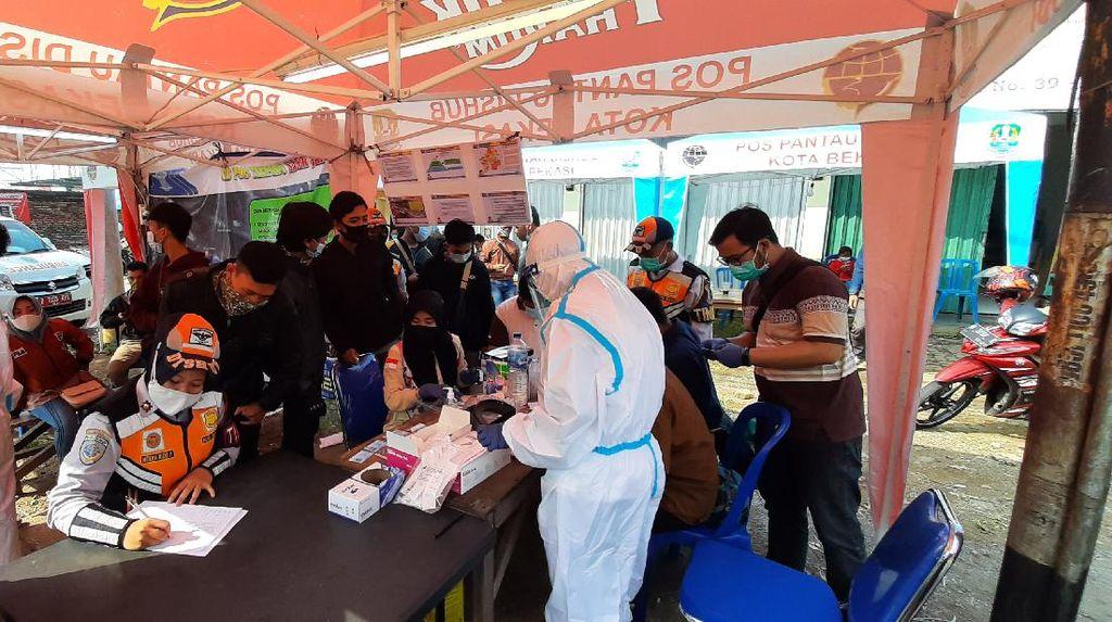 Terjaring Penyekatan, 175 Pemudik Diisolasi di Wisma Atlet